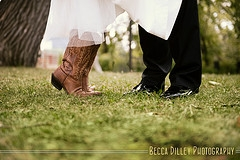 Bride-cowboy-boots-wedding-knot-arosyoutlook-rosy-outlook-7