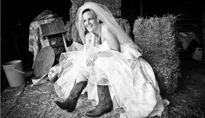 Bride-cowboy-boots-wedding-knot-arosyoutlook-rosy-outlook-4