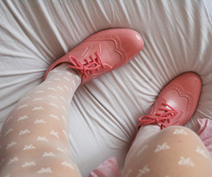 Cute pink shoes@weheartit.com