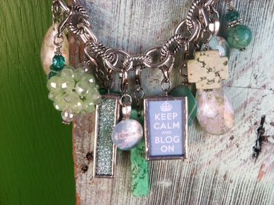 Keep-calm-blog-on-mint-green-necklace-charms-arosyoutlook-rosy